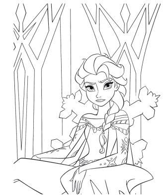 Frozen Castle Drawing