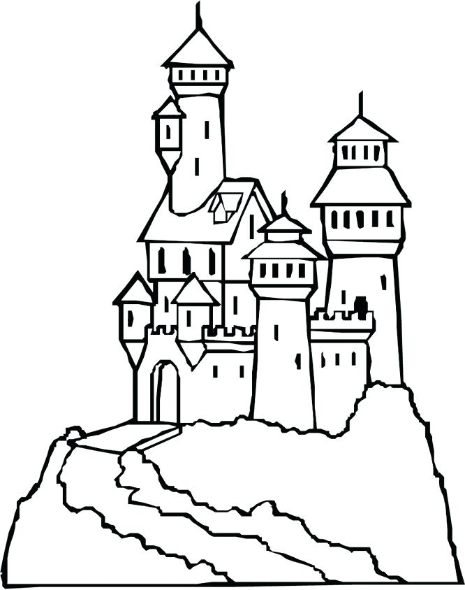 Frozen Castle Drawing at GetDrawings | Free download