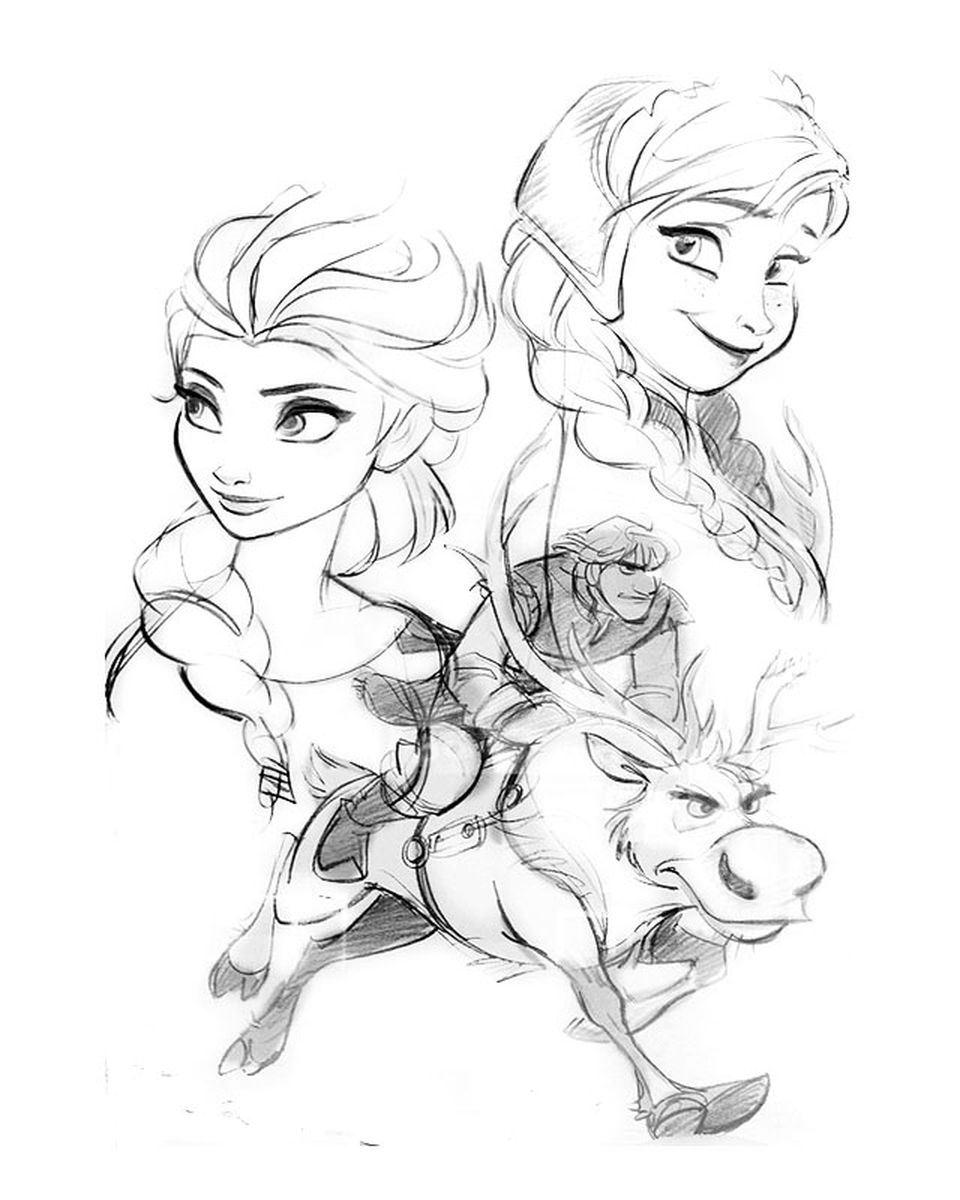 960x1200 Frozen Concept Art Character Design And Concept Art Inspo