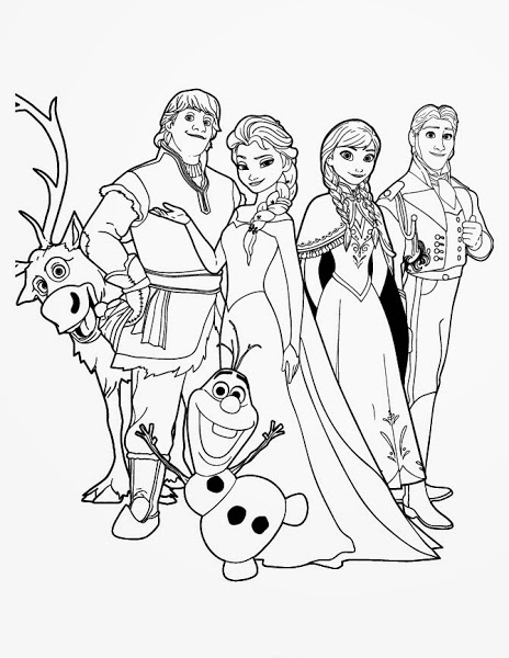 464x600 Movie Frozen Olaf Coloring Pages