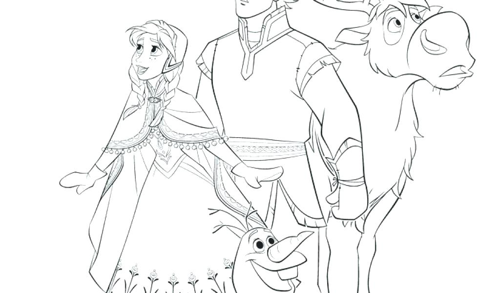 1024x600 Coloring Pictures Of Frozen Characters Mesmerizing Frozen Color