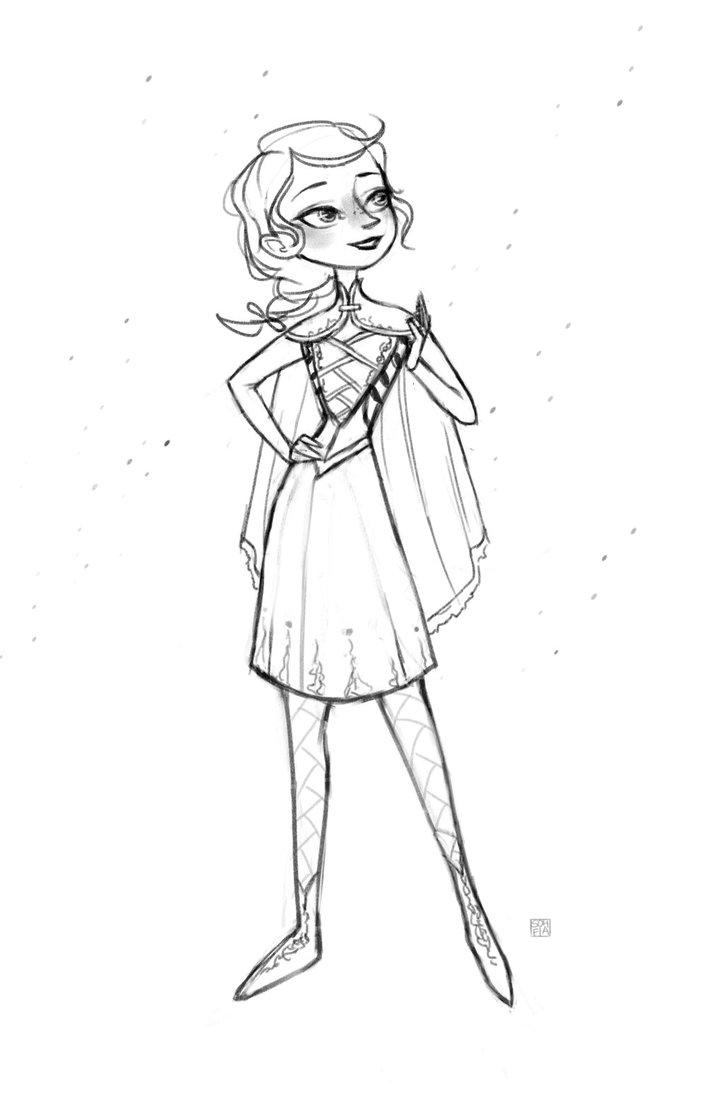 724x1103 Anna Inspired Design From Frozen By Sohfia