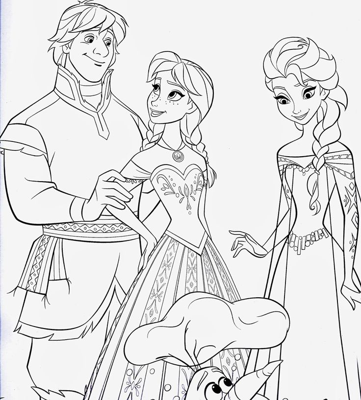 Frozen Drawing Paper