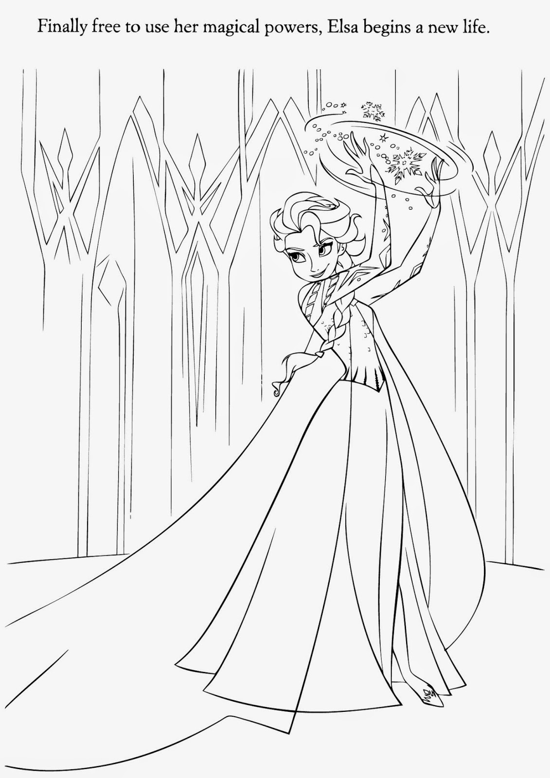Frozen Elsa Drawing at GetDrawings | Free download