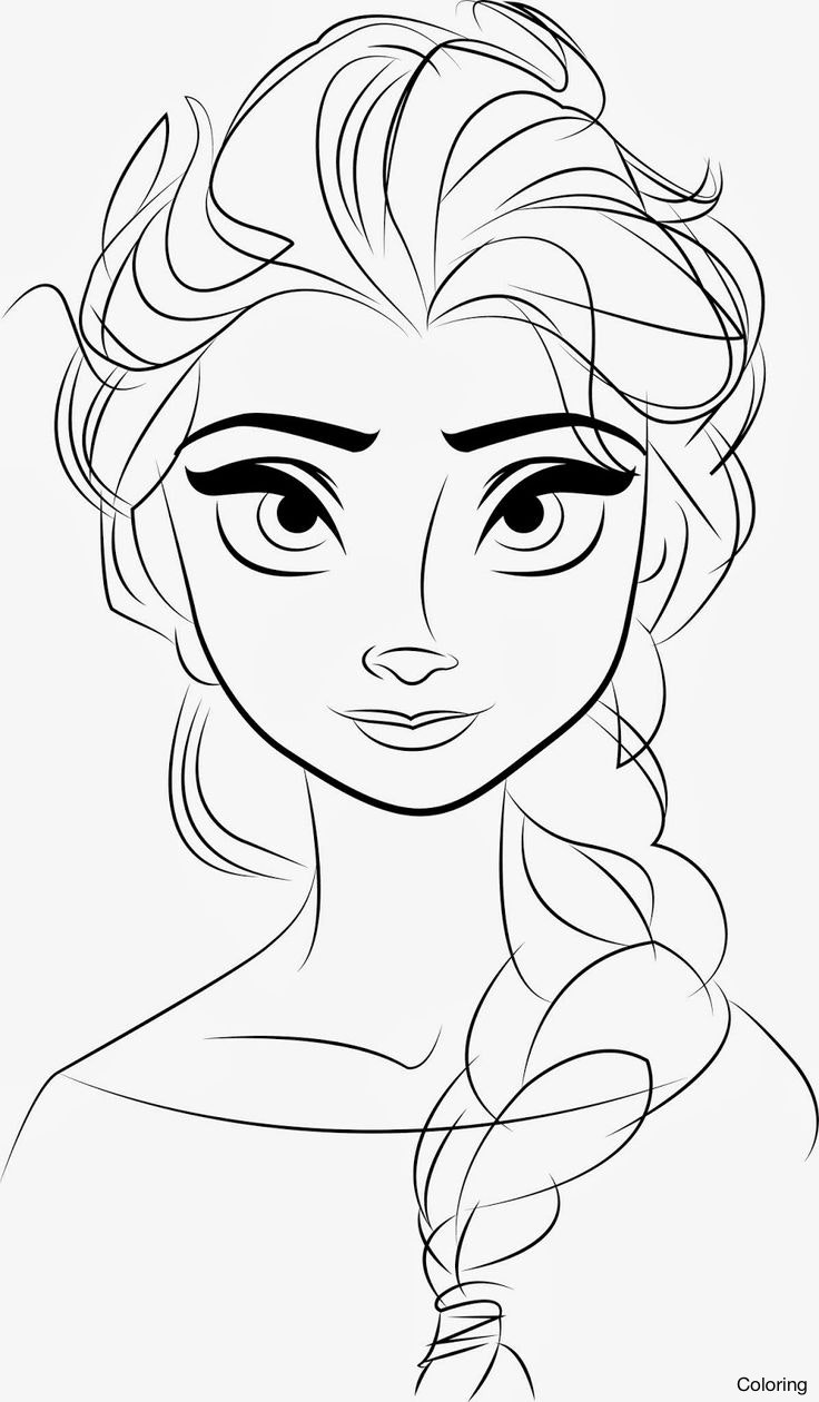 736x1260 Frozen Elsa The Snow Queen By D6tcve2 Drawing Coloring 13f Images