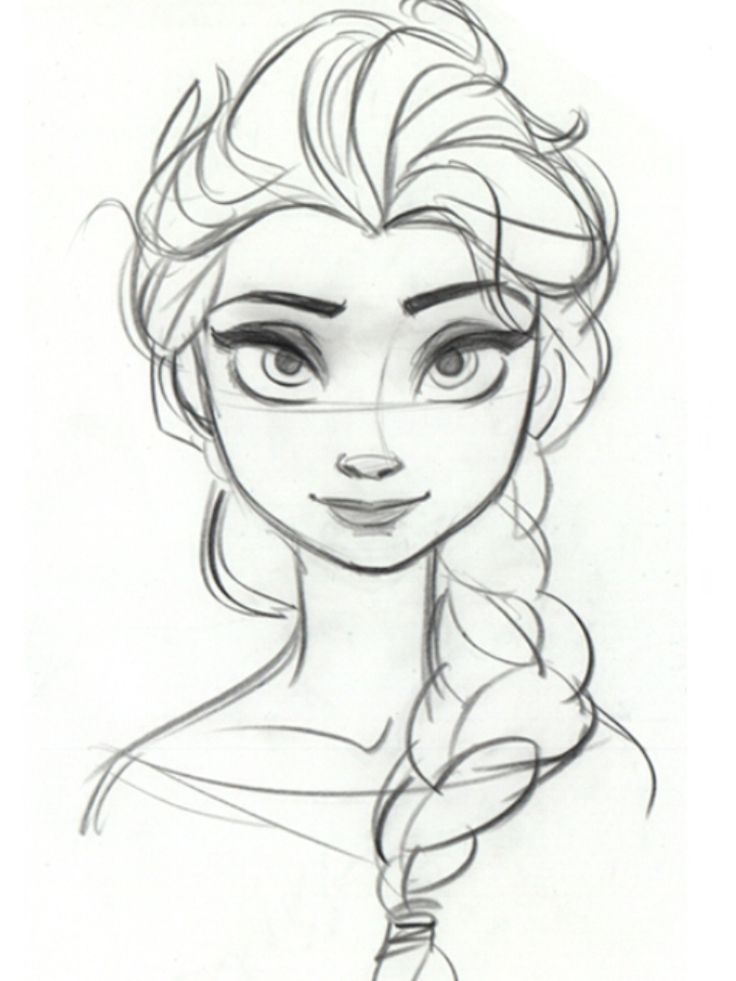 736x981 Elsa To Color