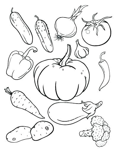 392x507 Coloring Pages Fruits Coloring Book Fruit Fruit And Vegetable