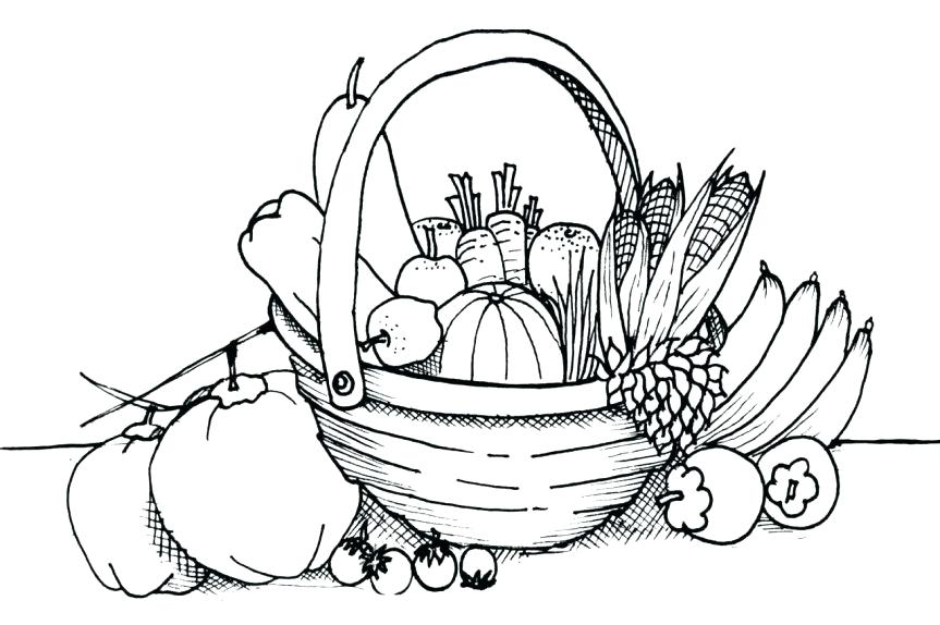 863x574 Coloring Pages Of Fruits Vegetables Coloring Pages Fruit