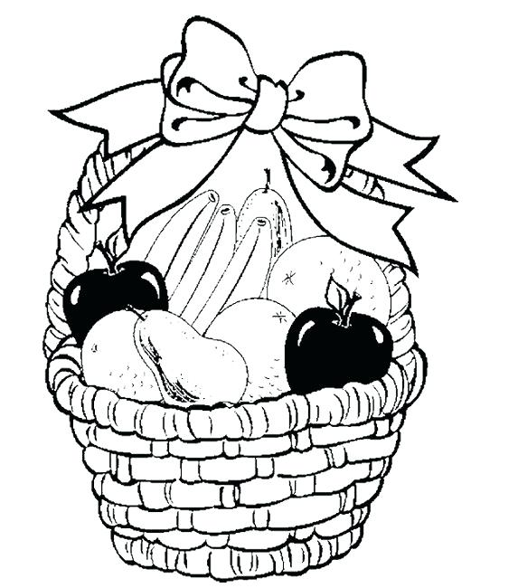 Fruit Basket Pictures For Drawing at GetDrawings.com | Free for ...