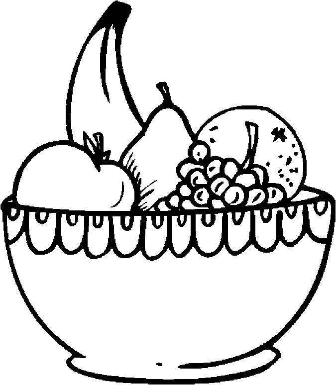 675x774 Fruit Basket Printable Free Download