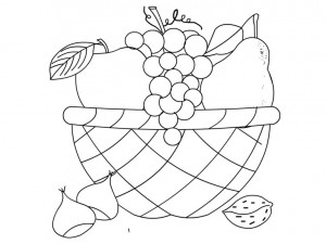 300x225 Cartoon Fruits Coloring Pages Crafts And Worksheets