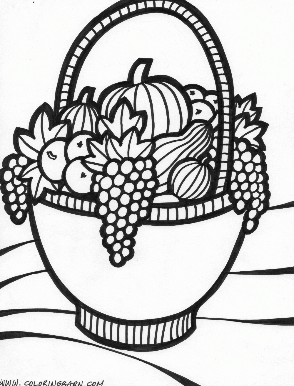1000x1310 Coloring Page Of Fruit Basket Apple Coloring Page Coloring Page