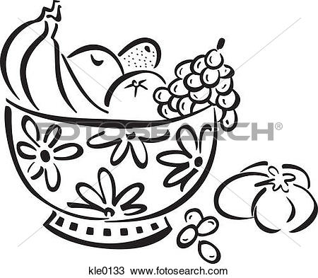450x393 Bowl Clipart Black And White