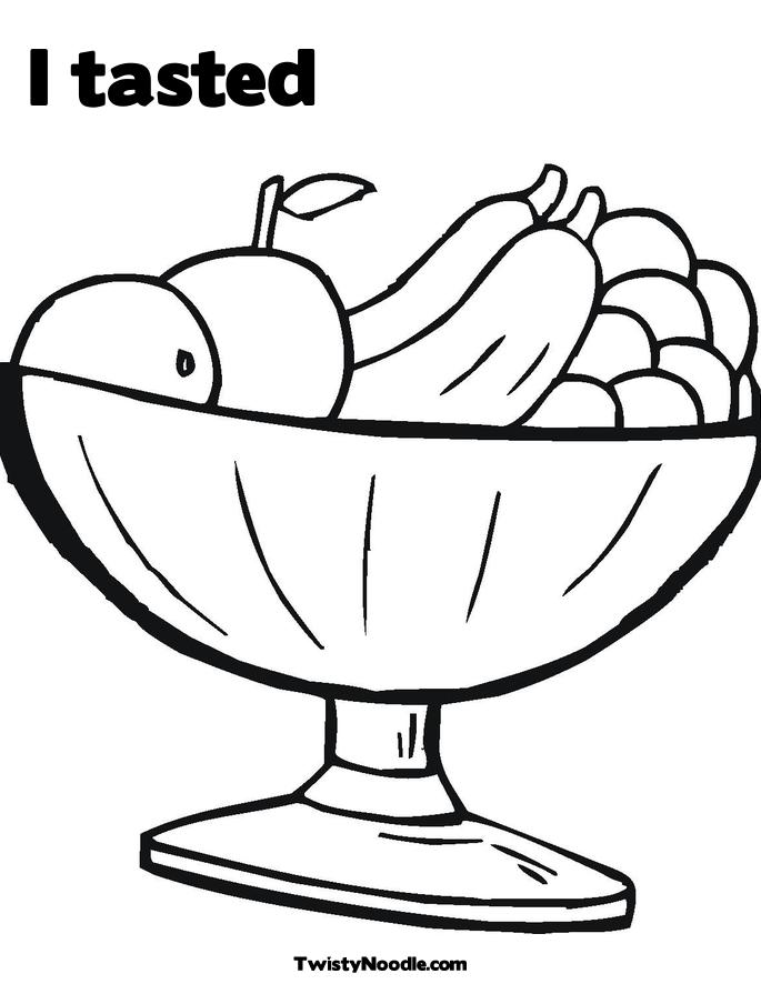 685x886 Chic And Creative Coloring Page Of Fruit Bowl Pages Bowls