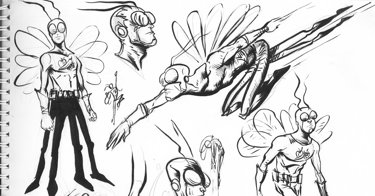 1200x630 Pretty Good Blog Fruit Fly Sketch Page