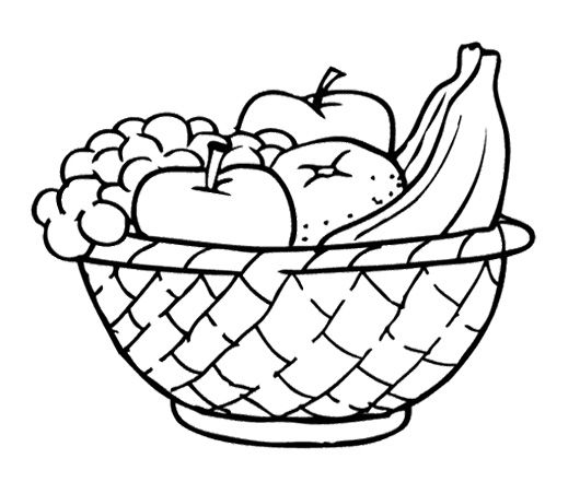 Line Art Fruits : Fruit line drawing at getdrawings free for personal