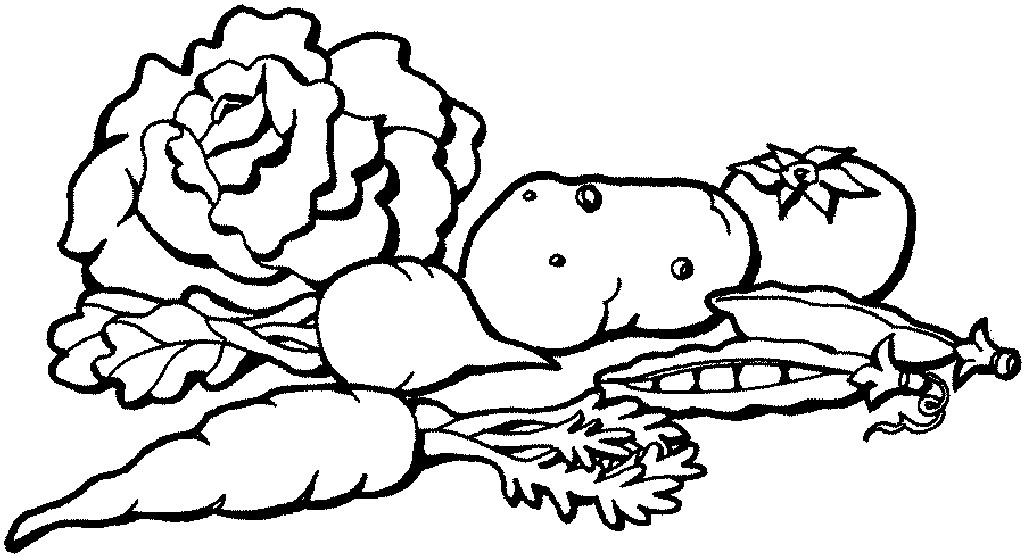 Fruits And Vegetables Drawing at GetDrawings.com | Free for personal ...