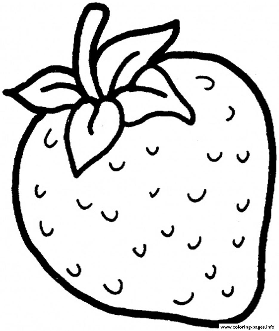 Fruits drawing for colouring at free for for Coloring pages fruits and vegetables
