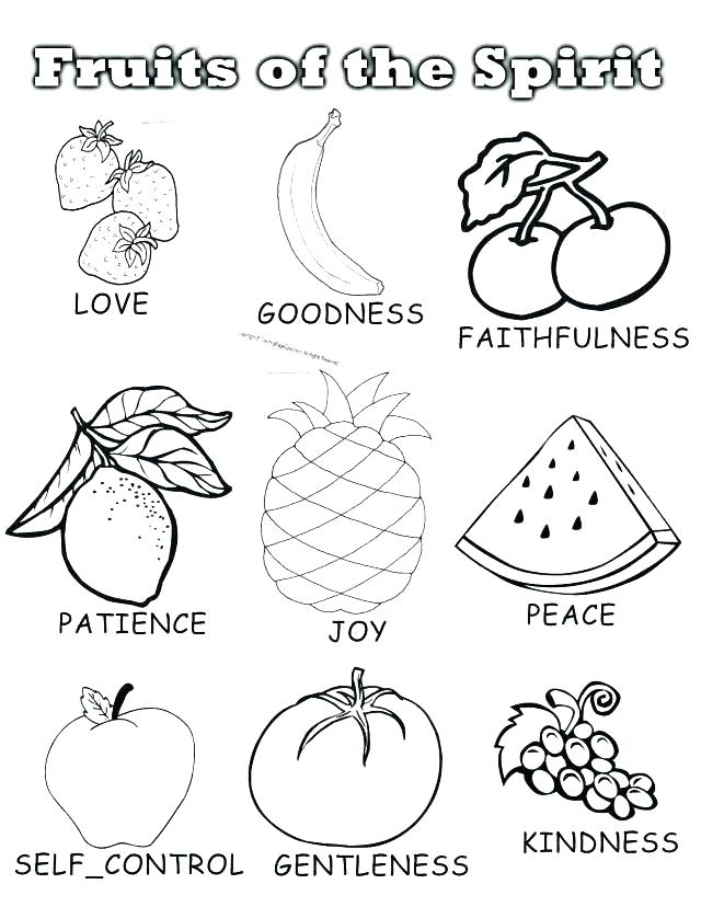 640x828 Good Fruits Coloring Pages For Fruit Coloring Pages 2 Coloring