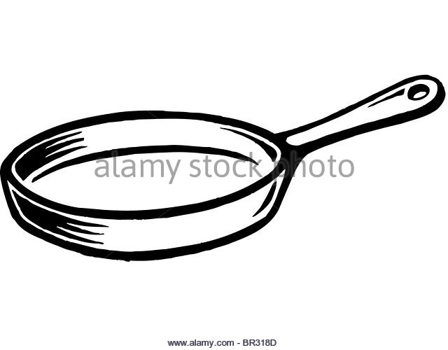 640x500 Cartoon Frying Pan Stock Photos Amp Cartoon Frying Pan Stock Images