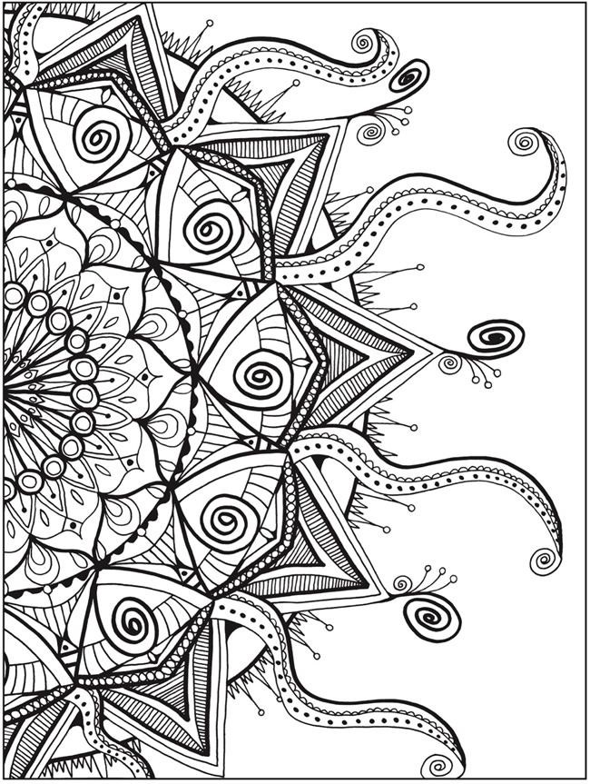 650x863 Full Page Coloring Sheets Coloring Page