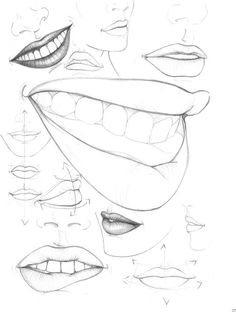236x312 How To Draw Lips Step By Step For Beginners