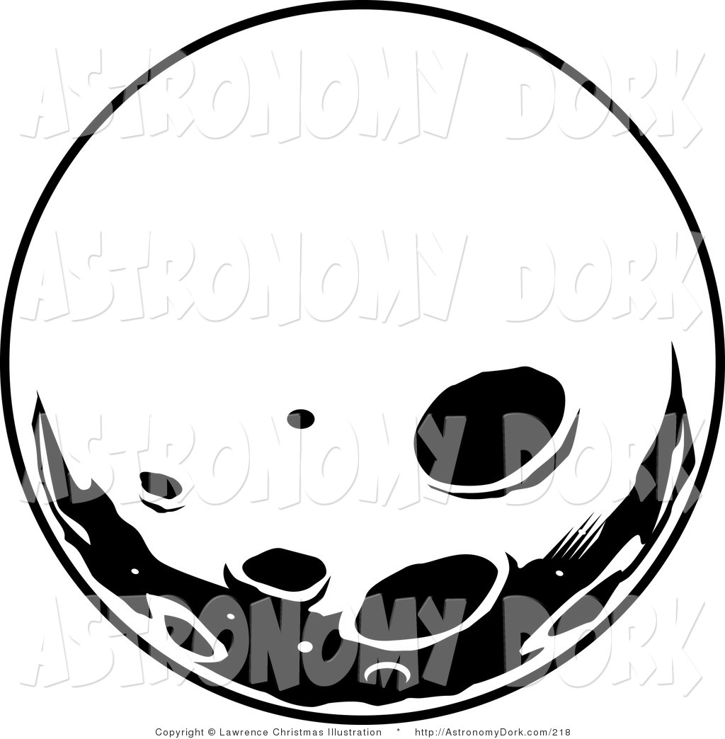1024x1044 Full Moon Clipart Black And White