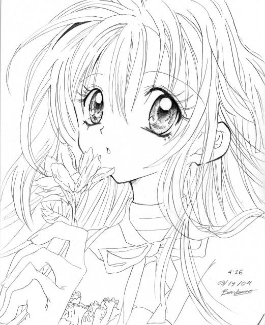 521x640 Full Moon Wo Sagashite Drawing