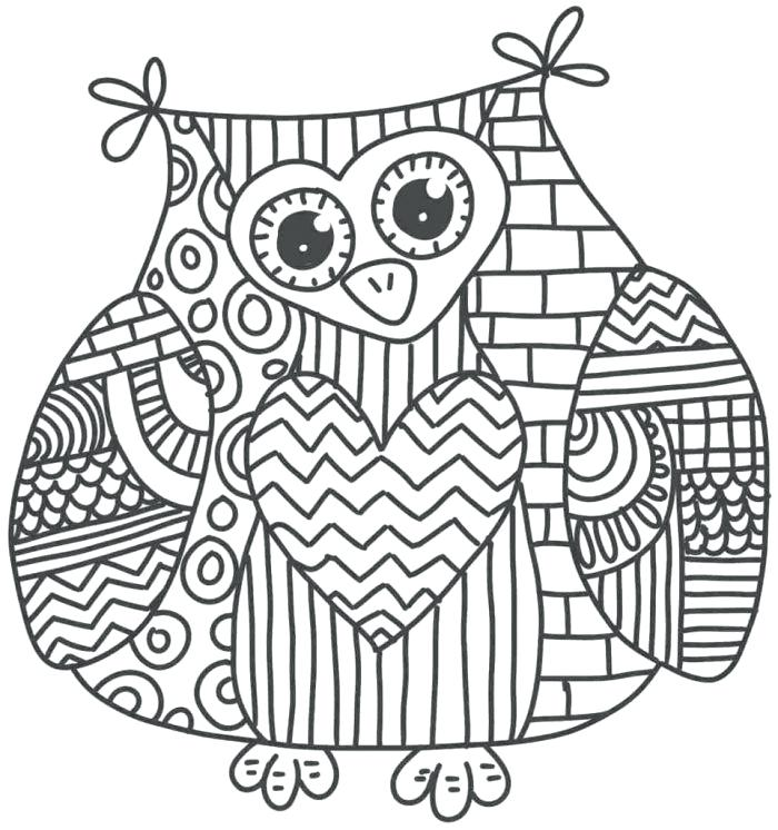 700x746 Full Page Coloring Pages