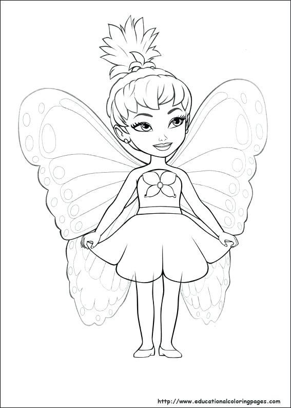 567x794 Stunning Enchanting Coloring Pages Barbie Print Full Size