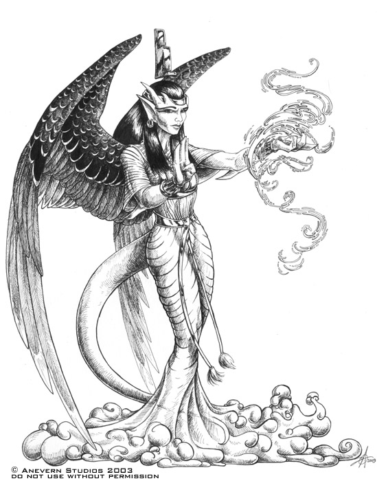 549x700 Coloring Pages Alluring Drawing Egyptian Gods 12