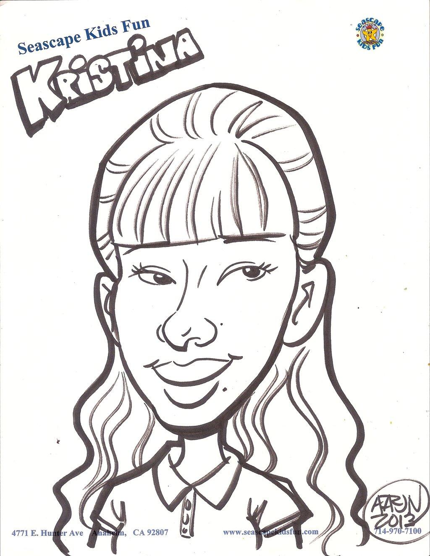 1024x1324 Seascrape Kids Fun Drawing Of Me From The Artist By Magic Kristina