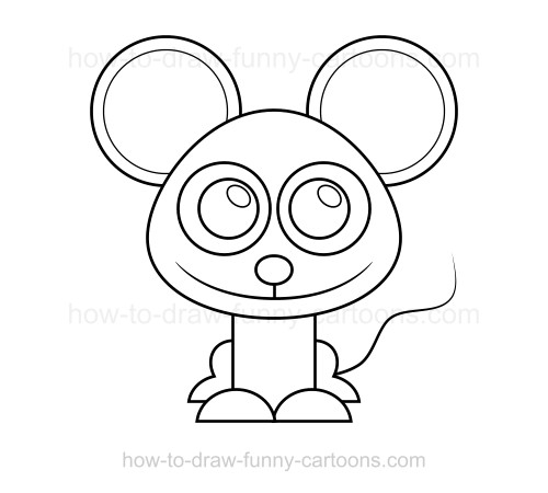 500x450 To Draw A Mouse