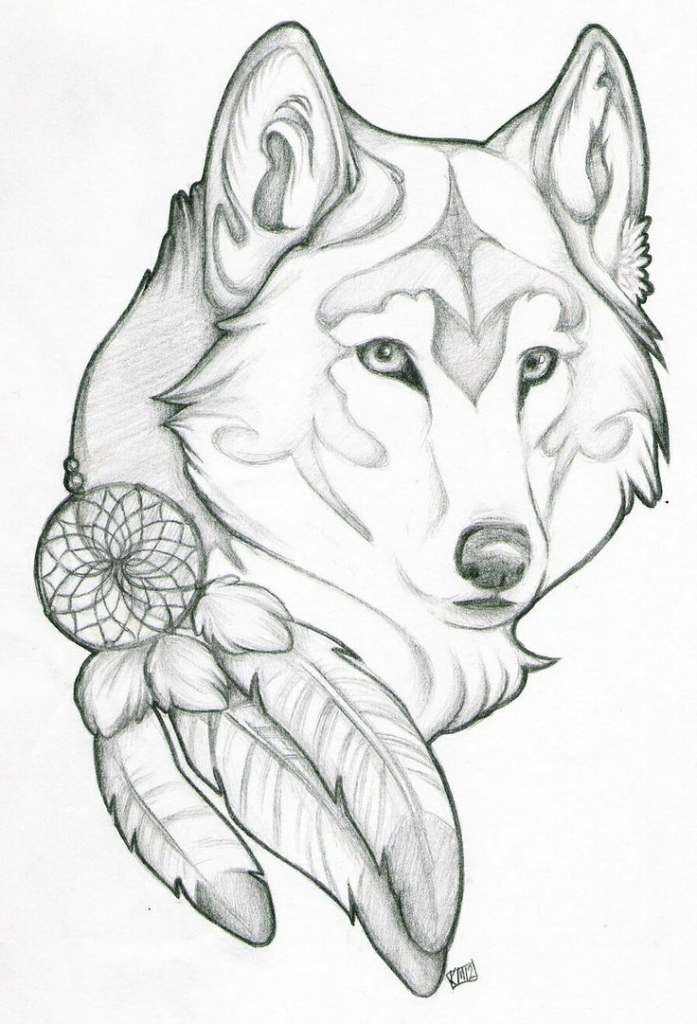 697x1024 Easy Fun Drawing Ideas 1000 Ideas About Wolf Drawings