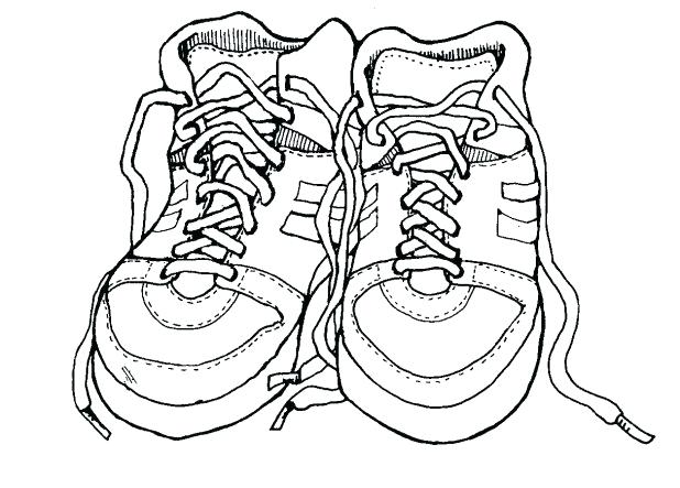 618x443 Fun Coloring Page Download Coloring Pages Shoes Printable Fun