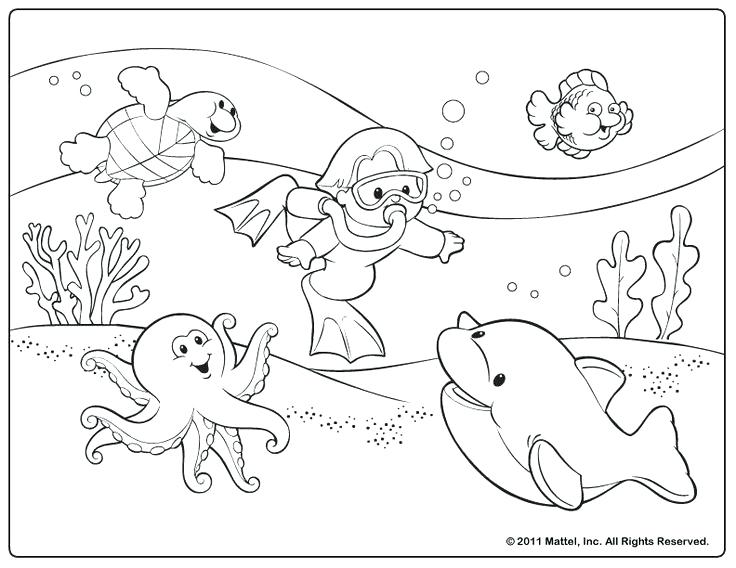 736x568 Coloring Summer Pictures At The Funfair Colouring Page Summ