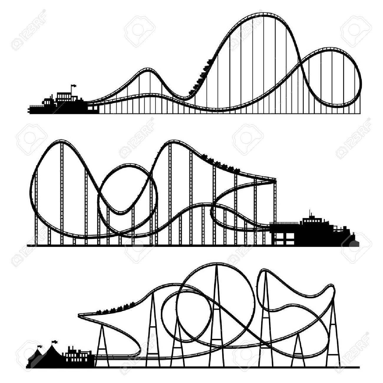 1300x1300 Vector Illustration. Ferris Wheel. Carnival. Funfair Background