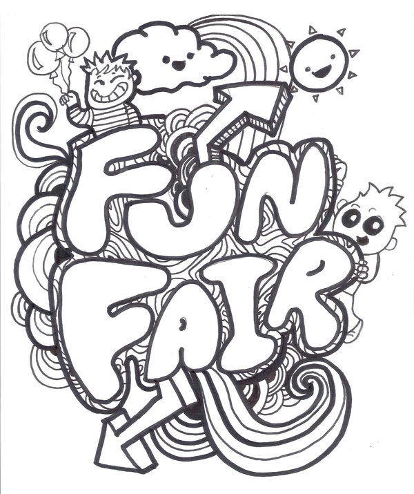 600x715 Funfair Logo By Puffychin By Richard Chin