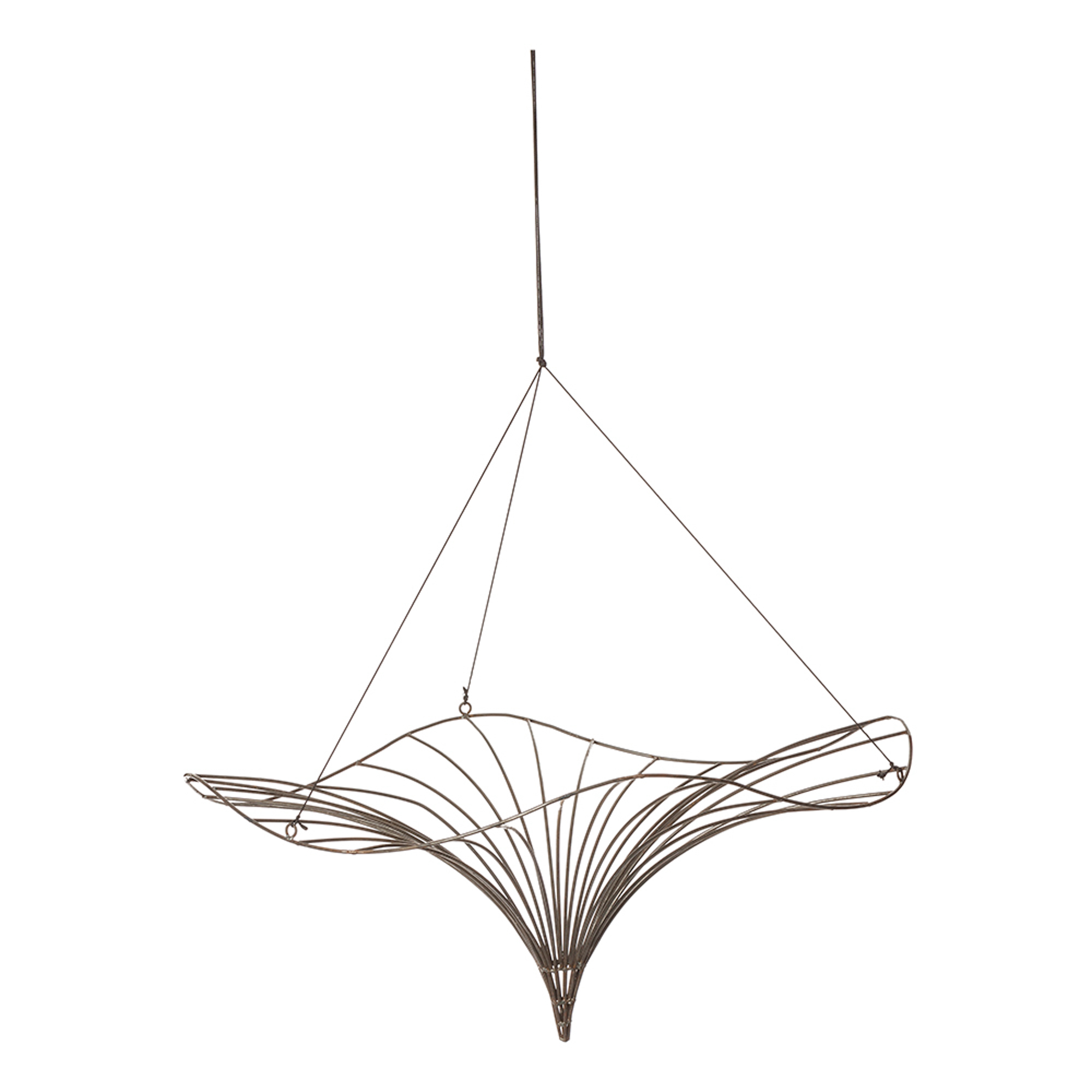 2000x2000 Wire Funnel Ornament Large