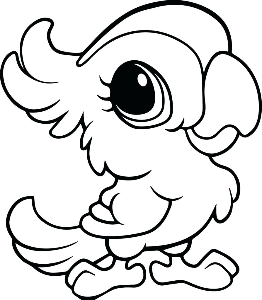894x1024 Coloring Pages ~ Baby Animal Coloring Pages Page Colouring