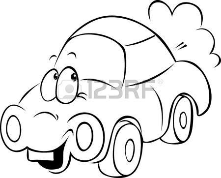 450x362 Funny Car Cartoon