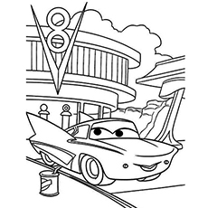 230x230 Top 10 Free Printable Disney Cars Coloring Pages Online
