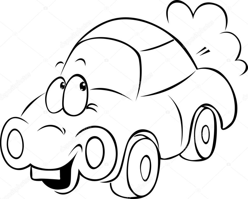 1024x823 Funny Car Cartoon