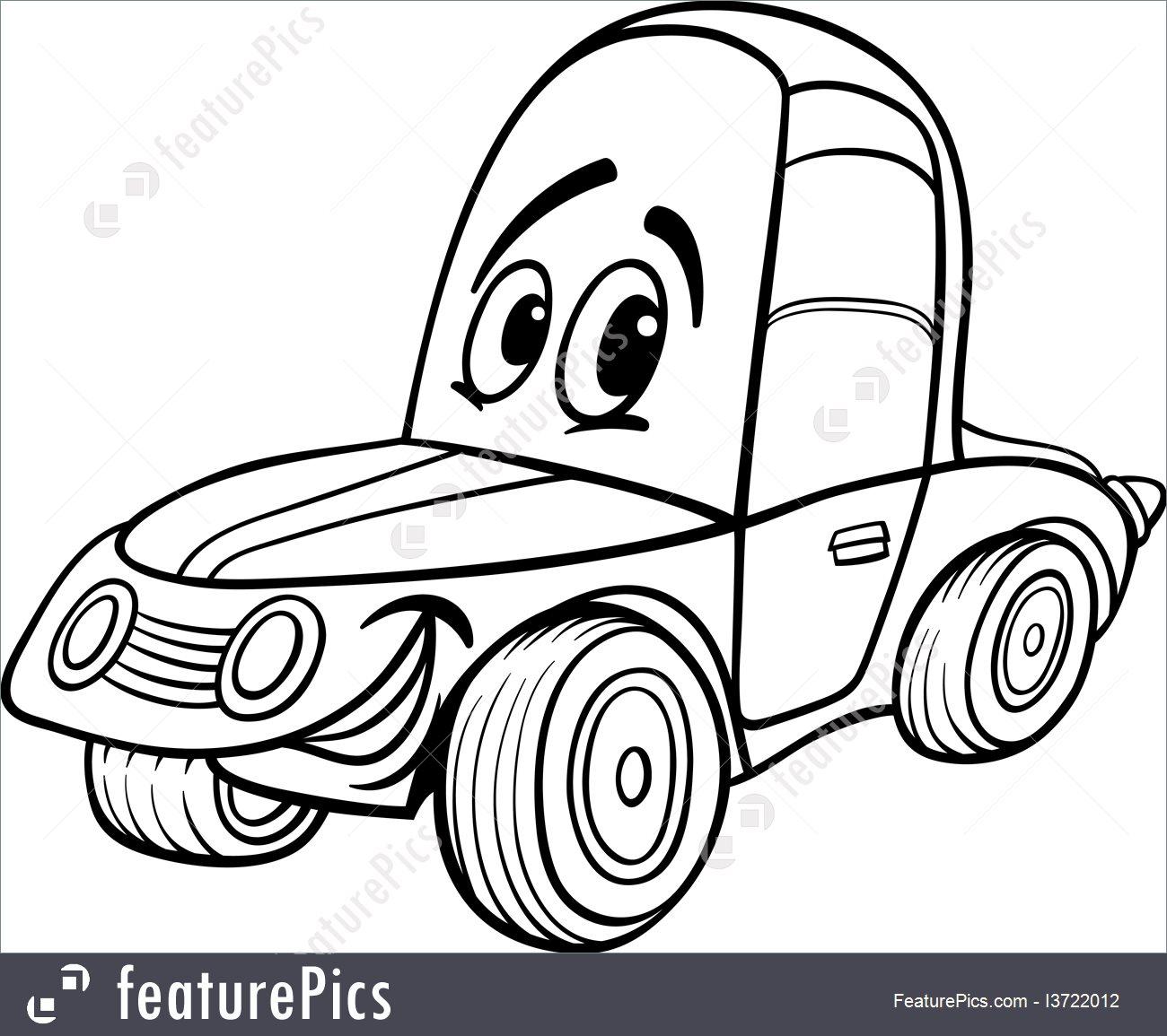 1300x1155 Auto Transport Car Cartoon For Coloring Book