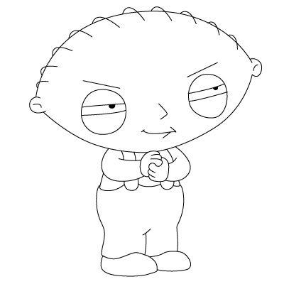 400x400 How To Draw Stewie Cartooning Track Funny Cartoon