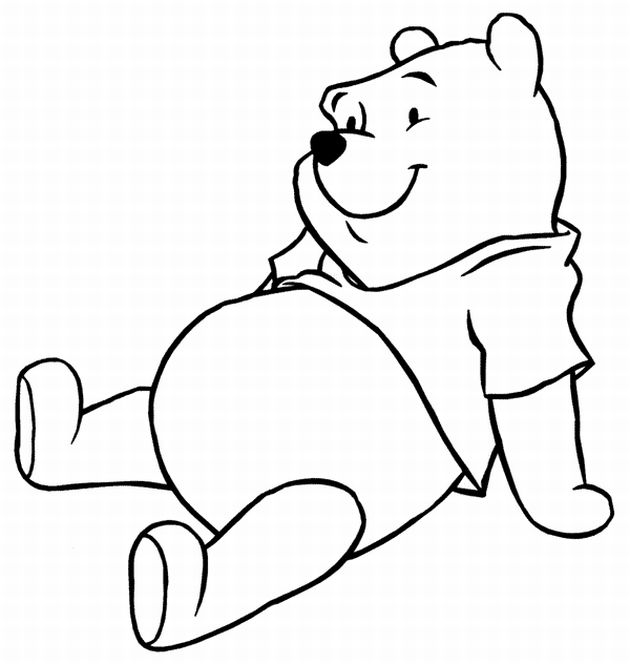 630x664 Color Cartoon Characters Coloring Pages