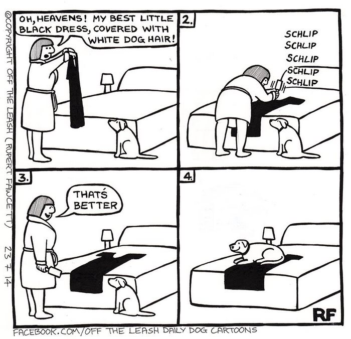 700x676 Hilarious Comics About Life With Dogs By The Leash