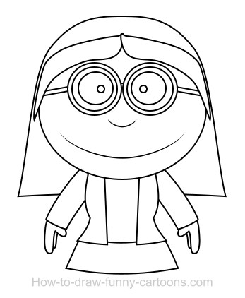 347x422 Drawing A Teacher Cartoon