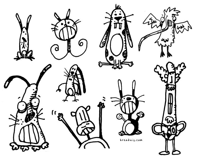 800x641 Strange Creatures