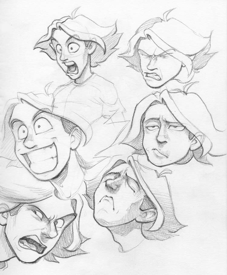 750x910 Funny Faces 3 By Preyingdantis